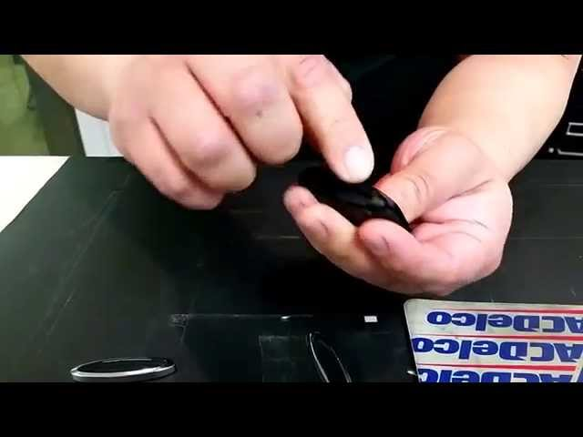2007-2012 Jaguar XK & 2009-2012 Jaguar XF key fob battery ...
