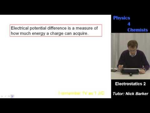 Physics 4 Chemists: Electrostatics part 2