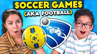 The Best Soccer Video Games Of All Time | Teens Vs. Adults