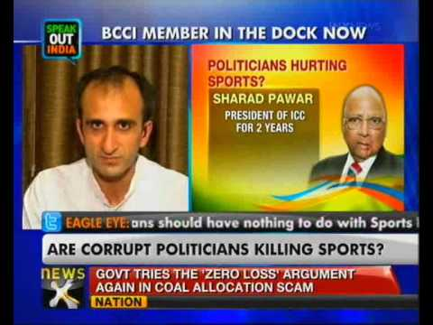 Politicians overshadow sports federations in India - NewsX