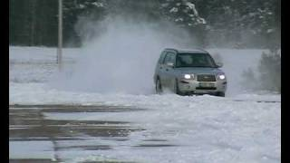 Subaru Forester and snow 1