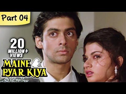 Maine Pyar Kiya (HD) - Part 04/13 - Blockbuster Romantic ...
