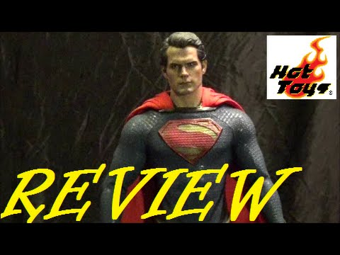Toy Review: Hot Toys Man Of Steel Superman 1/6 Scale Figure MMS200