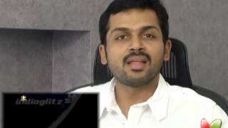 Alex Pandian - Karthi Speaks about Dhoni and Sachin | Alexpandian | Anushka - Santhanam | Latest Tamil Movie