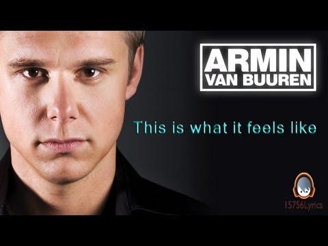 Armin Van Buuren This Is What It Feels Like Album Cover Armin Van Buure...