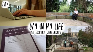 A Day in my Life at Exeter University