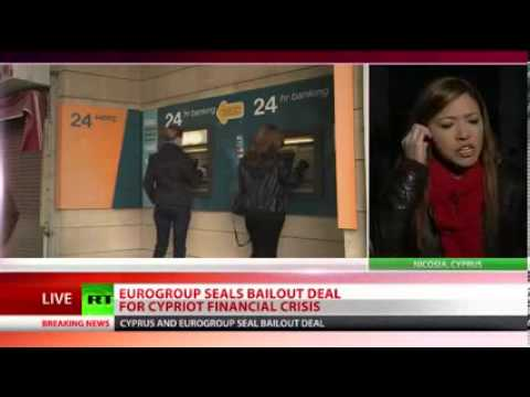 Eurozone Finance Ministers Approve Bailout Deal for Cyprus