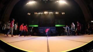 SOUL MAVERICKS vs JINJO CREW - Crew Semi Final (UK B-Boy Champs World Finals 2011)