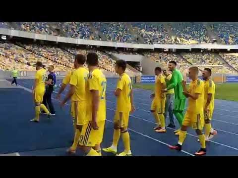 Відкрите тренування збірної України. Автографи і селфі з гравцями