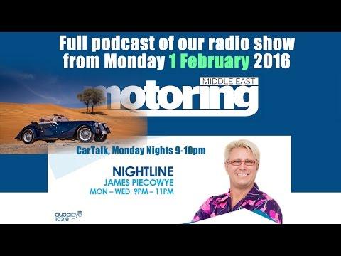 Car Talk Radio Show Podcast from 1 Feb 2016 on Dubai Eye