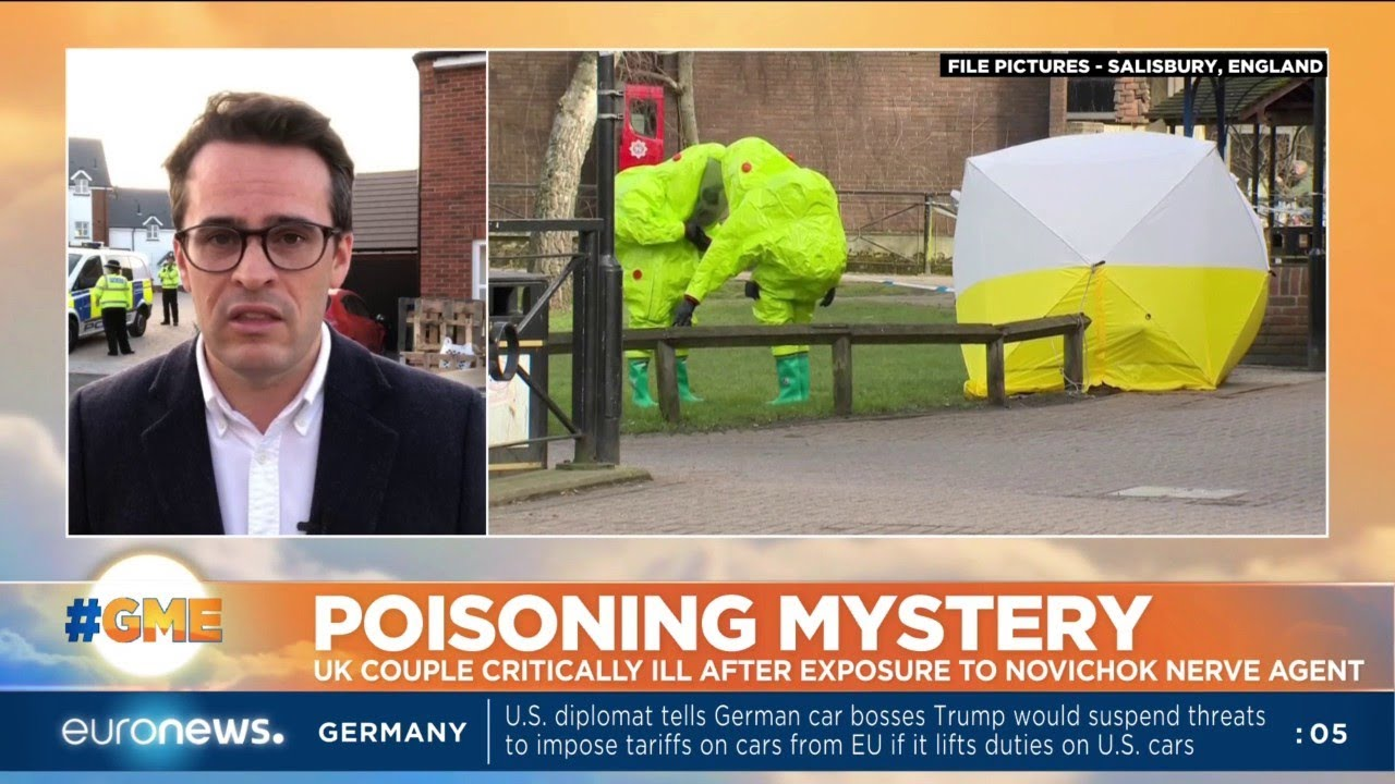 Poisoning Mystery: UK couple critically ill after exposure to novichok nerve agent in Amesbury, UK