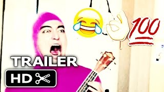 The emoji movie trailer but every time it's cringy pink guy screams