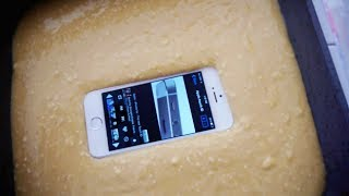 iPhone 5S Baked In Cake – Will it Survive?