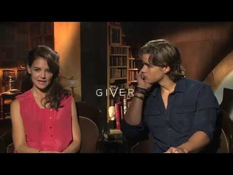 THE GIVER Interviews: Jeff Bridges, Katie Holmes, Brenton Thwaites