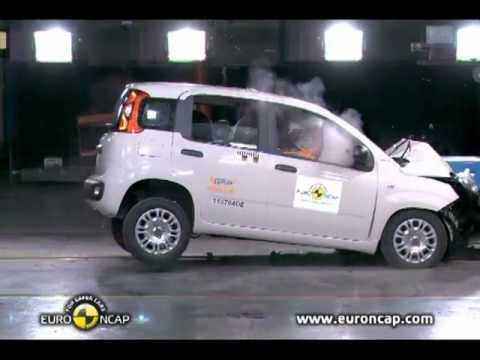 ► 2012 Fiat Panda CRASH TEST