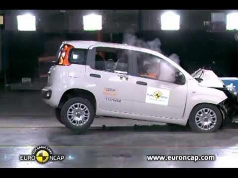 ► 2012 Fiat Panda CRASH TEST