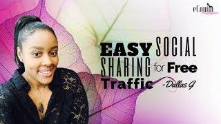 Easy Social Media Sharing for Free Traffic