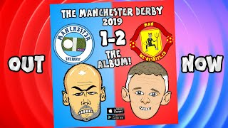 💿MAN CITY vs MAN UTD 1-2: The Album Advert!💿 (Parody Goals Highlights Rashford Martial 2019)