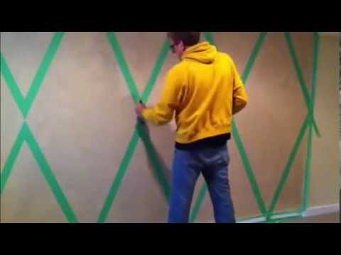 faux creative painting techniques for walls youtube