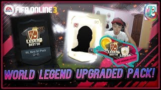 ~Wow World Legend Upgraded Pack!~ Sept Premium Lottery 2018 Opening - FIFA ONLINE 3