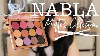 NABLA MATTE COLLECTION | Swatches + First Impression