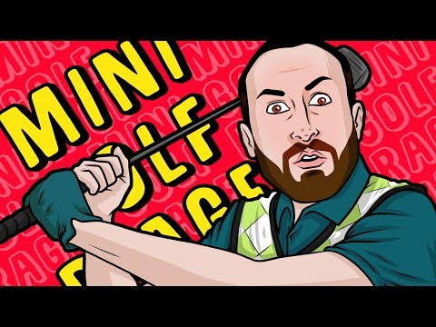 Mini Golf ANGER ACTIVATED!!! - Golf It Funny Gameplay Moments - NEW MERCH!