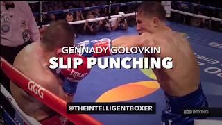 Gennady Golovkin (GGG) Slip Punching Film Study