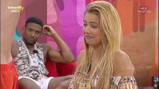 António acaba sem roupa em dança para Andreia Silva