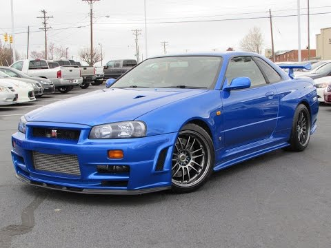 1999 Nissan Skyline GT-R (R34) Start Up. Test Drive. and In Depth Review