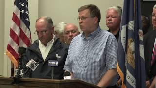 Louisiana Tech President Les  Guice Post-Tornado Press Conference