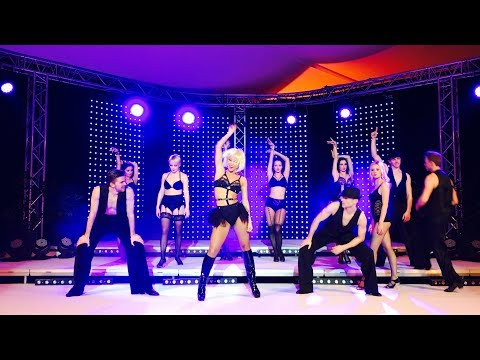 SHOW ME HOW YOU BURLESQUE (Christina Aguilera) Incredible dance performance by Kathrin Menzinger