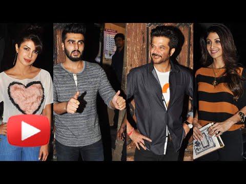 Priyanka Chopra, Arjun Kapoor, Shilpa Shetty | Celebs Attend Anil Kapoor's Bash | Dil Dhadakne Do