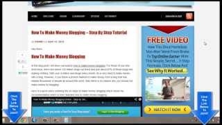 How To Make Money Online Blogging From Home - Must See