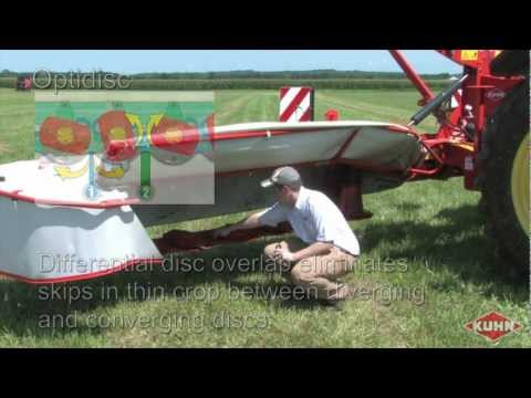 Kuhn GMD Triple Disc Mower Review with Ryan Pearcy