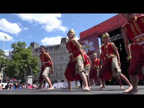 Hello Indonesia Festival –Trafalgar Square London June 2015 - Part 1
