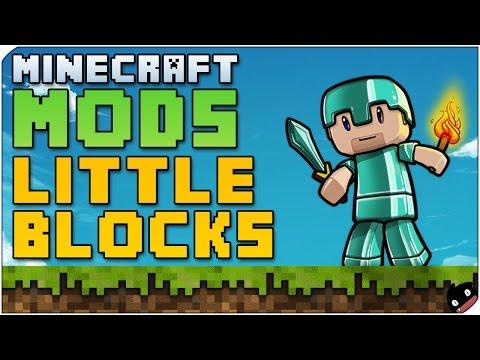 Minecraft Mods 28 - Little Blocks(1.6.4/ 1.7.2) Bloques diminutos