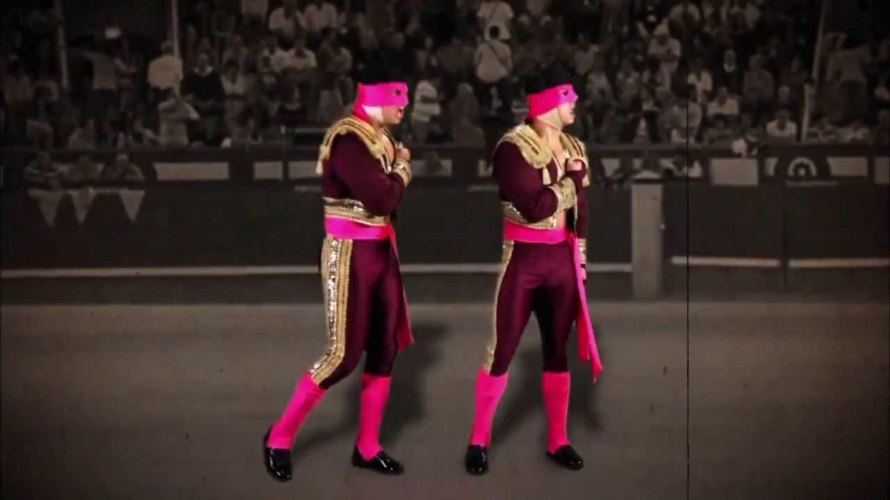 Luchadores Los Matadores Primer Promo de Los Matadores