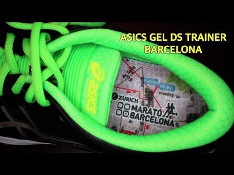 Asics Gel DS Trainer 20 Barcelona, unboxing del modelo conmemorativo del Maratón