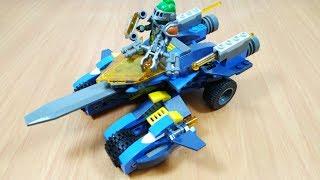 Lắp ráp Lego Nexo Knight Soldier hiệp sĩ lái xe chiến đấu