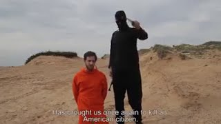 ISIS beheading gone wrong.