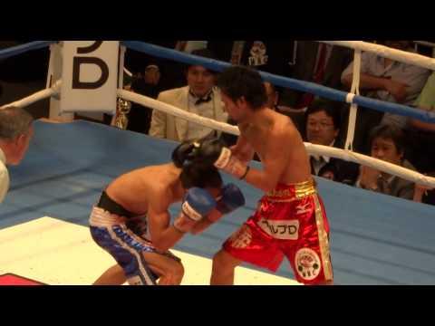 20130408 山中慎介vsツニャカオ 山中12RKO勝ち