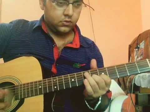 Ek din teri raaho mein NAQAAB Perfect Guitar Instrumental (Acoustic...