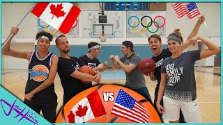 TEAM BASKETBALL OLYMPICS! *USA vs CANADA!*