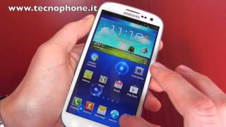 Samsung Galaxy S III : Focus sulla nuova interfaccia TouchWiz by tecnophone.it