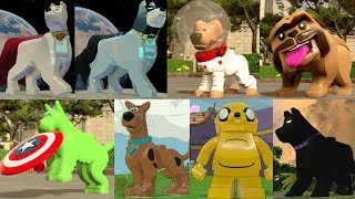 All Playable Dog Characters in LEGO Videogames