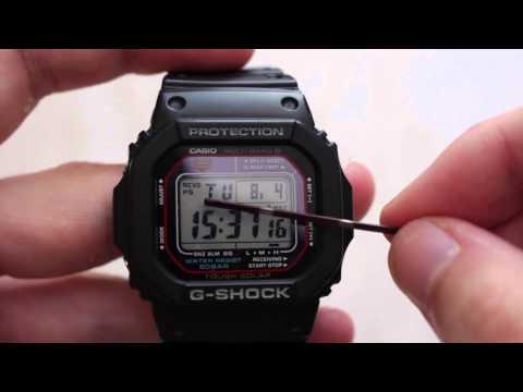CASIO G-SHOCK GW-M5610-1ER REVIEW (HD)