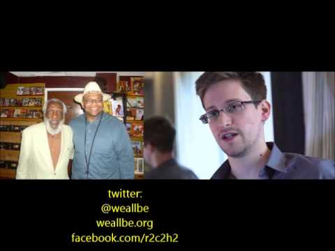 Baba Dick Gregory on Edward Snowden BEing A Russian Spy 1/26/2014