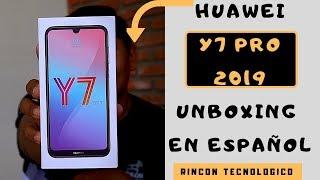 Huawei Y7 2019│Unboxing en ESPAÑOL