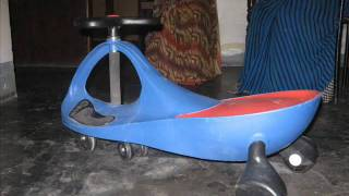 Amazing Tricycle for kids : No Paddle No Brakes.. Just steer it to move