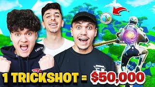 First to Hit a Trickshot Wins $50,000 - Challenge